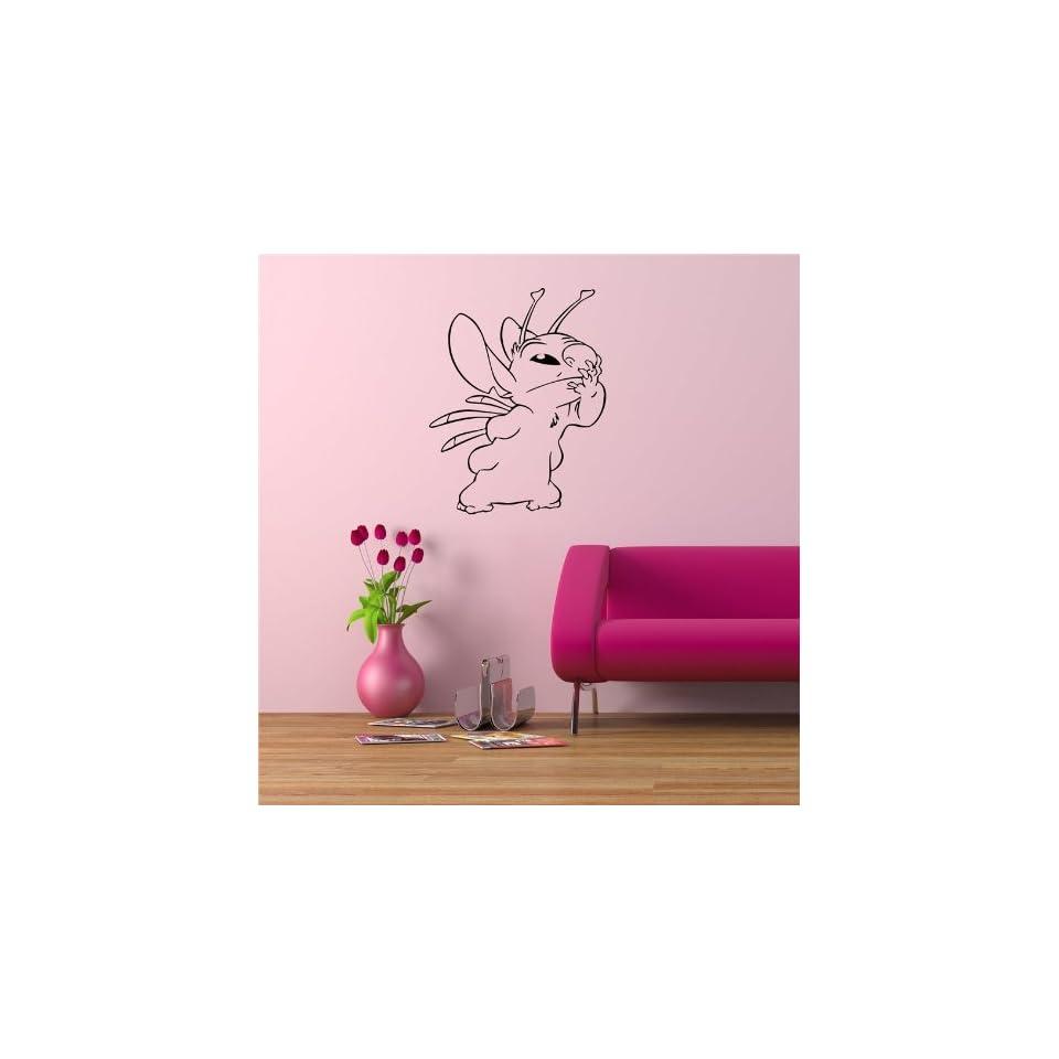 LILO STITCH WALL VINYL STICKER MURAL ART DECAL BABY KIDS ROOM NURSERY D514