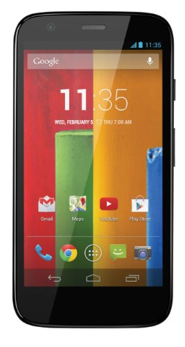 Motorola Moto G – US GSM – Unlocked – 16GB (Black Reviews