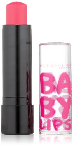 Maybelline New York Baby Lips Balm Electro, Pink Shock, 0.15 Ounce front-5711
