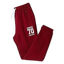 adidas Originals Girls' Trousers (AB1677116_CBURGU/WHITE-116_5-6 years)