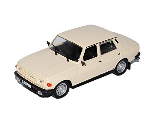 Wartburg-353-W-Limousine-Beige-1984-1988-143-Modellcarsonline-Modell-Auto-mit-individiuellem-Wunschkennzeichen