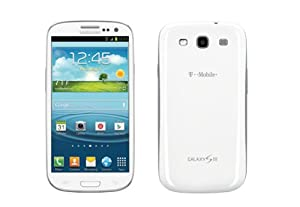 T-mobile Samsung Galaxy S3 SGH-T999 - White, Locked, No-Contract
