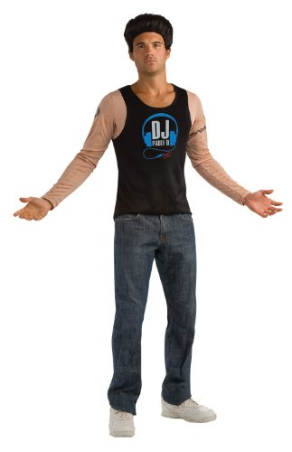 Jersey Shore Pauly D Flesh Shirt With Tattoos, Tan, X-Large Costume