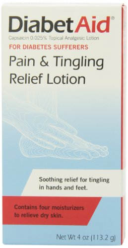 DiabetAid Pain and Tingling Relief Lotion 4-Ounces Pack of 4B00027EJPS