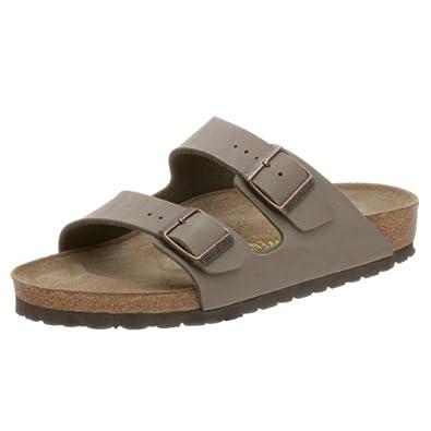 疯抢)德国产Birkenstock 勃肯经典软木凉鞋Arizona Birkibuc Sandal 折后