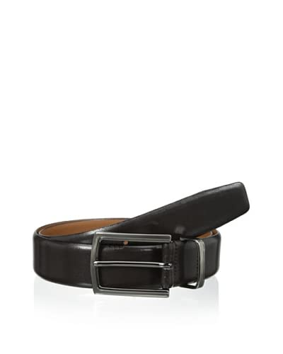 J. Campbell Los Angeles Men's Feather Edge Metal Keeper Belt