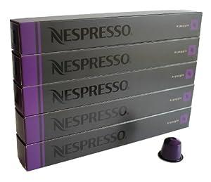 Nespresso Capsules purple - 50x Arpeggio - Original Nestlé - Espresso Coffee