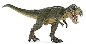 ティラノサウルス T・レックス緑 (走) [Papo]55027 約31.1×9.6×12.5cm ソフトPVC製 フィギュア