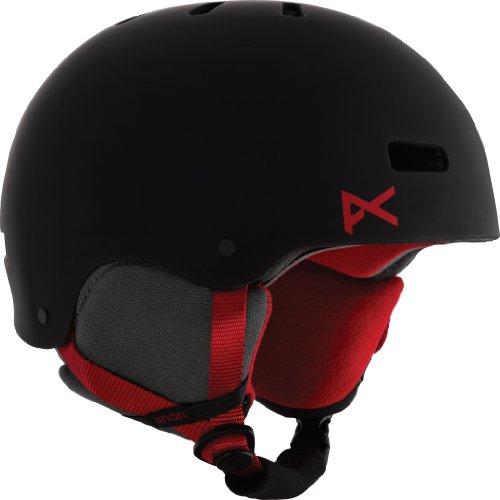 Anon Herren Snowboardhelm, black/red eu, M/57-59 cm,10662100022