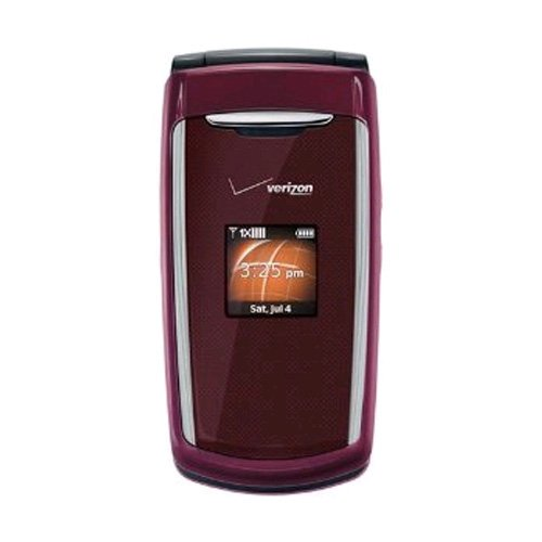 Verizon PCD Escapade Replica Dummy Toy Phone, Dark Red