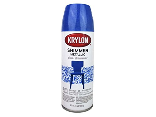 krylon shimmer metallic spray paint 11 5 oz black cherry dealtrend. Black Bedroom Furniture Sets. Home Design Ideas