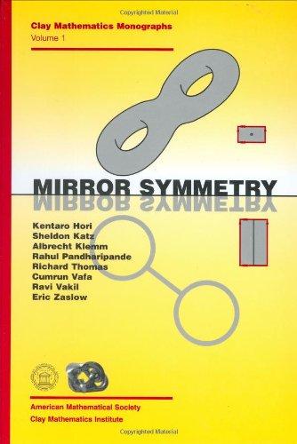 Mirror Symmetry (Clay Mathematics Monographs, V. 1)