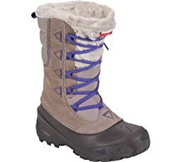 The North Face Shellista Lace II Boot Girls Atmosphere Grey/Blue Iris 13