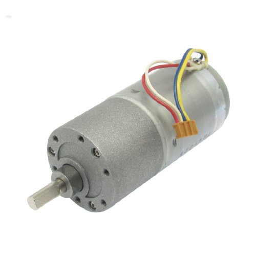 Replacement 37Gb Dc 24V 20Rpm 100Ma Wire Lead Electric Geared Motor