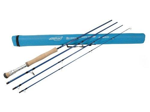 Airflo fishing rod line rating 8 9 ocean blue 9 ft for Blue fishing rod