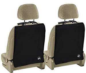 OxGord Kick Mats For Auto Car Back Seat Cover Care Kid Protector Cleaning 2 Pack Set