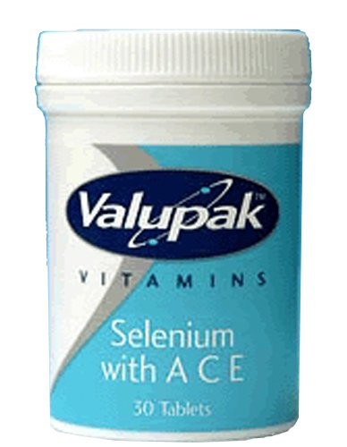 Valupak Vitamins Selenium & A C E 30 Tablets