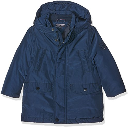 Tommy Hilfiger Back TO School Jacket, Giubbotto Bambino, Blau (Navy Blazer 431), 6 anni