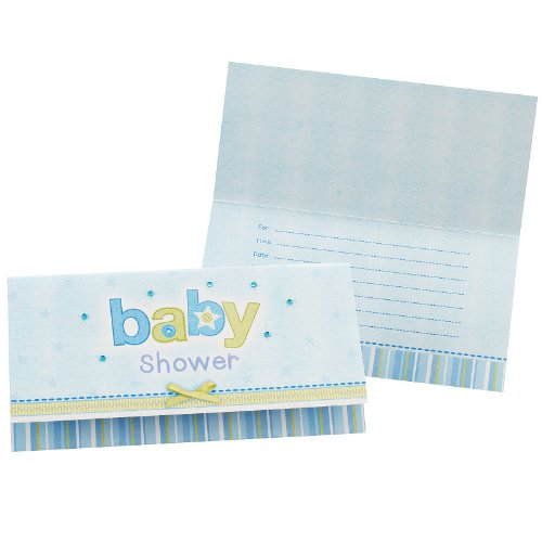 Carter's Baby Boy Invitations (8 count)
