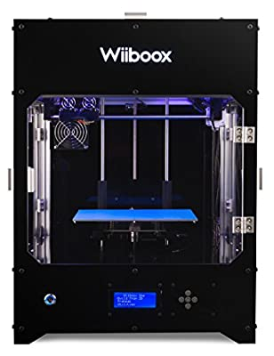 Wiiboox ONE 3D Printer, Metal Frame Structure, Acrylic Cover, Particle Filtration Module, High Quality 3D Print