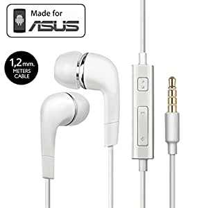 Asus Fonepad 7 FE375CL Compatible Earphone / Handsfree In Ear Headphones For Fonepad 7 FE375CL with 3.5mm jack - White