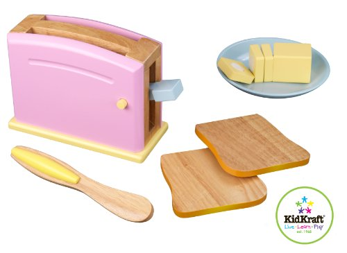 KidKraft Pastel Toaster Set at Amazon.com