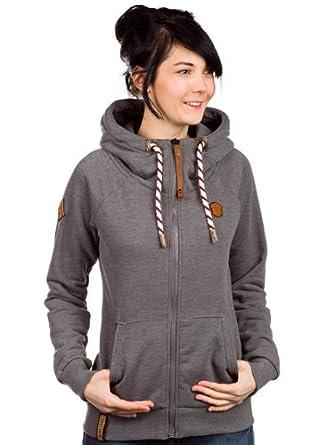 6c1669f6a903e9 Das FLEECE MELANGE HOODY kommt in bekannter und beliebter Manier mit  kuscheliger Merinowolle auf der . Fleece Jacke für Damen bietet dadurch  weniger ...