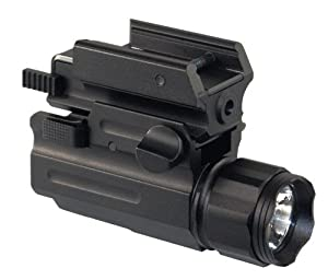 AIM Tactical Compact Red Aiming Laser Sight + 150 Lumen Quick Detach LED Flashlight... by AIM