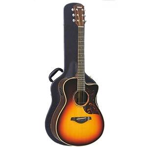 yamaha ac3rvs acoustic electric guitar in vintage sunburst with case cell phones. Black Bedroom Furniture Sets. Home Design Ideas
