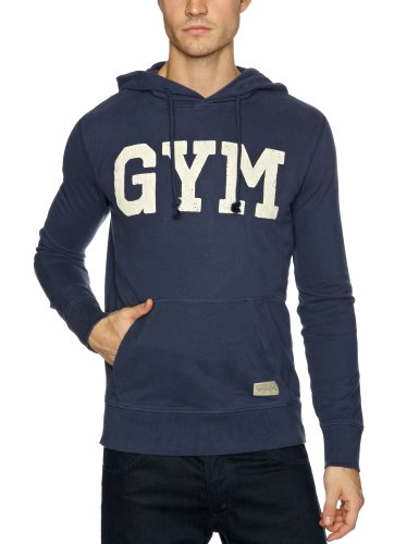Jack & Jones Gym Hood Men's Sweatshirt Mood Indigo X-Large