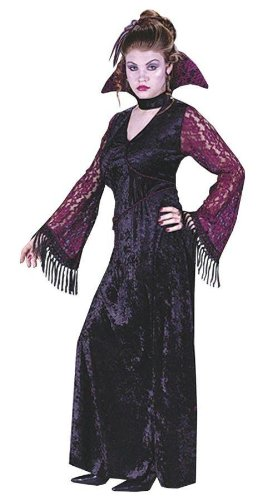Costumes For All Occasions Fw1635 Gothic Lace Vampire Teen