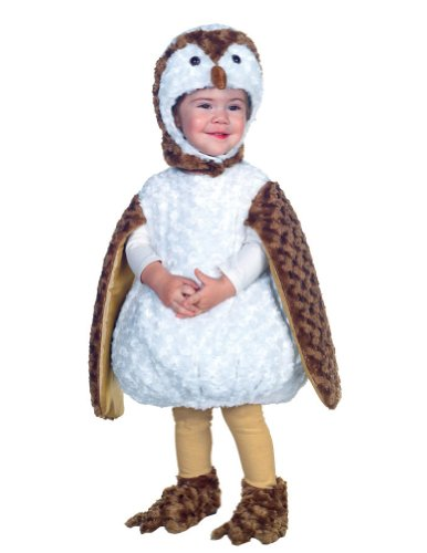 White Barn Owl Toddler Costume 2T-4T - Toddler Halloween Costume - Underwraps