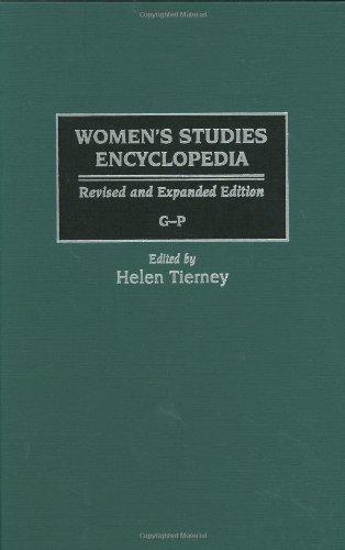 Women'S Studies Encyclopedia Volume G-P