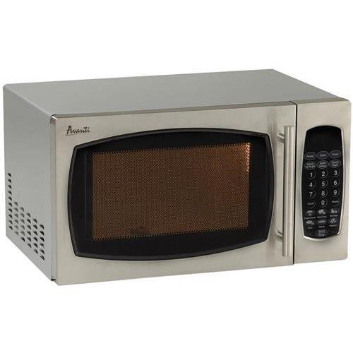 Avanti Products Avanti Mo9003Sst 0.9 Cubic Foot Microwave Oven With Stainless Steel Finish