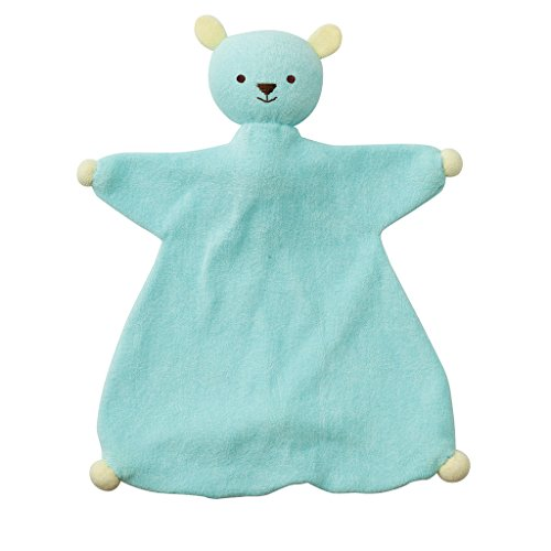 Soft Sweeties PP-ID 510.910 Indy Pupazzo Doudou in Cotone Bio, Azzurro/Giallo