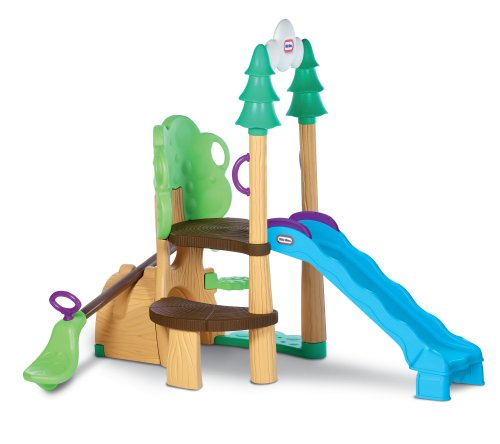 Little Tikes 1,2,3 Climber, See Saw & Slide - 1