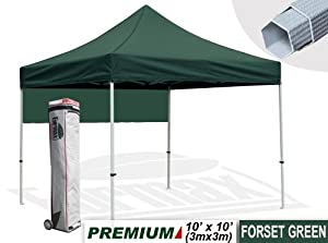 New Eurmax 10x10 Ft Premium Ez Pop up Instant Canopy Party Tent Gazebo Commercial... by Eurmax