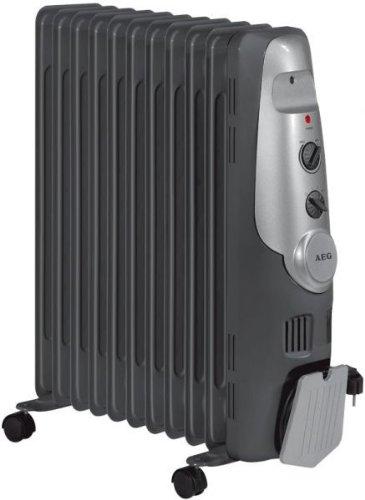 Radiador de aceite de 2200w AEG negro