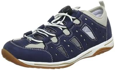 Remonte R0603, Chaussures à lacets femme - Bleu (Pazifik/Beige 13), 42 EU
