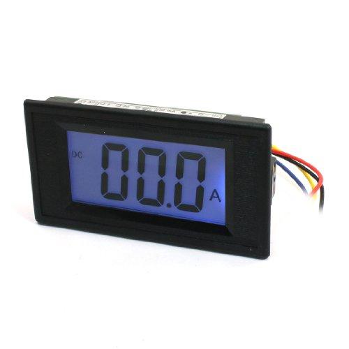 Lcd Digital Display Ampere Meter Ammeter Amp Panel Gauge Dc 30A/75Mv