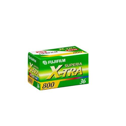 Fujifilm Fujicolor SUPERIA X-TRA Color Negative Film, ISO 800 36 Exposures 121843