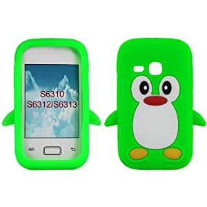 Samsung Galaxy Young S6312 S6310 S6313 (Green): Cell Phones