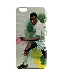 PosterGuy iPhone 6 / 6S Case Cover - Brazil Legend Pele Illustration Sports Legends