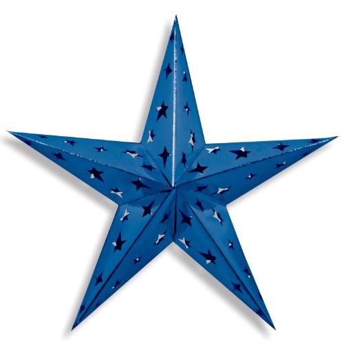Beistle Dimensional Foil Star, 24-Inch