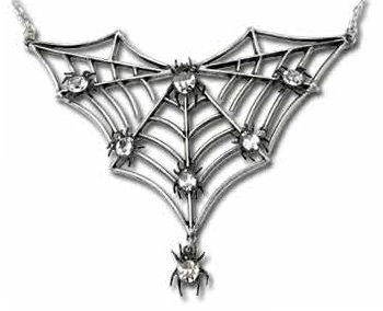 Spithrella Spider Alchemy Gothic Necklace