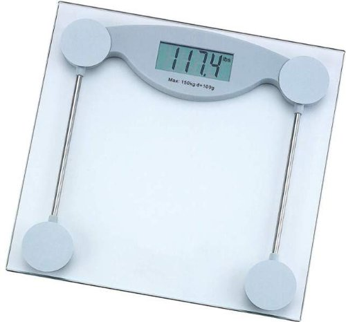 """Healthsmart Electronic Bathroom Scale *** Product Description: Healthsmart Electronic Bathroom Scale. Features 4 Strain Gauge Sensors, 2-7/8"""" X 1-1/8"""" Lcd Display, 1/4"""" Tempered Safety Glass Platform, Auto On/Off, And Low Battery Indicator. Weigh ***"""