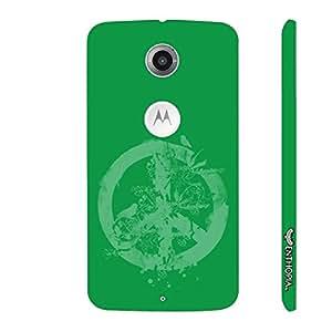 Motorola Moto X2 2nd Gen Peace - Green designer mobile hard shell case by Enthopia