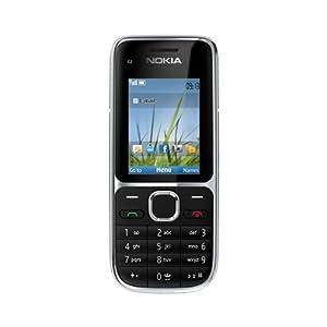 Nokia C2-01 Téléphone Portable 3G Noir