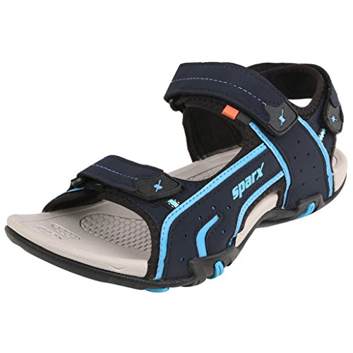 Sparx-Mens-SS438-Series-Navy-Blue-Royal-Blue-Synthetic-Casual-Floater-Sandals