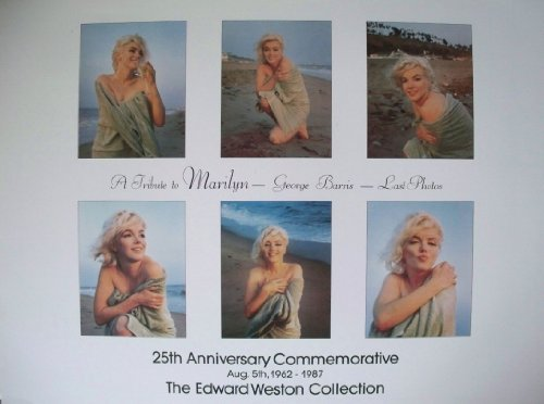 25th-anniversary-a-tribute-to-marilyn-monroe-by-george-barris-last-photos-vintage-poster-print-59cms